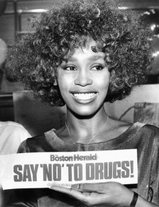 whitney houston just say no